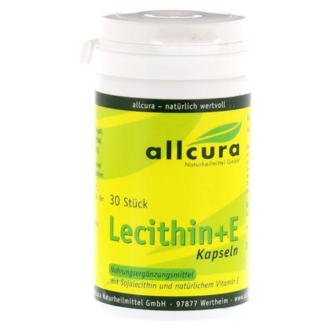 LECITHIN KAPSELN+Vitamin E 1.000 mg 30 Stück
