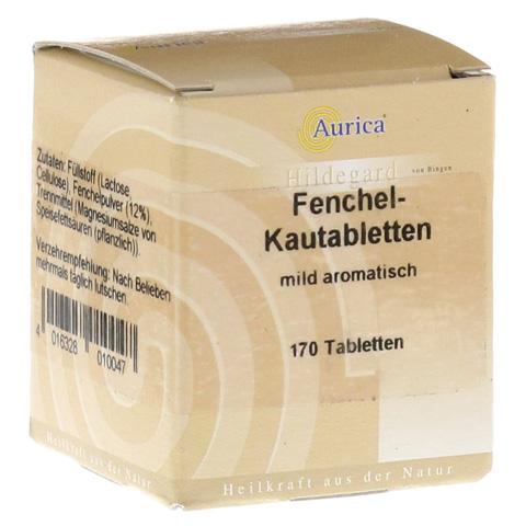 Fenchelkautabletten Aurica 170 Stück