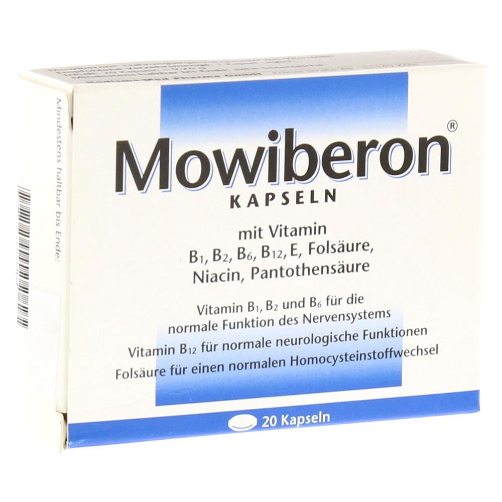 MOWIBERON Kapseln 20 Stück online bestellen - medpex Versandapotheke