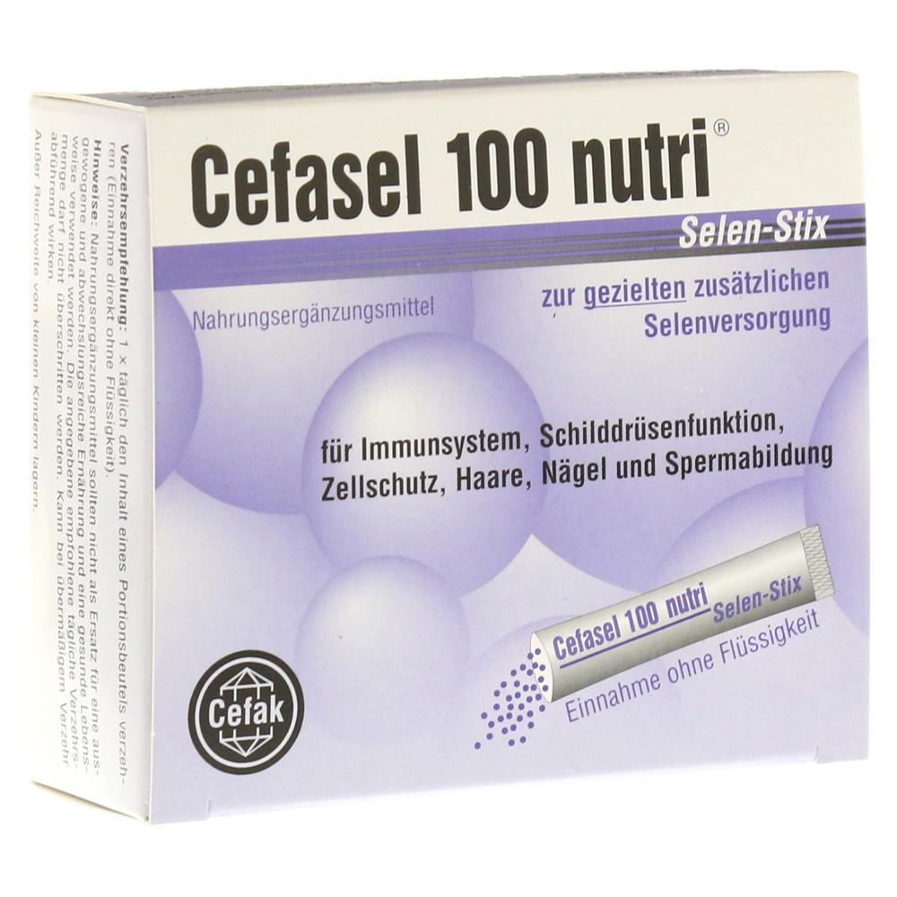 erfahrungen zu cefasel 100 nutri selen stix pellets 20 st ck medpex versandapotheke. Black Bedroom Furniture Sets. Home Design Ideas