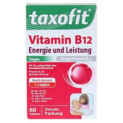 TAXOFIT Vitamin B12 Mini-Tabletten 60 Stück - Vorderseite
