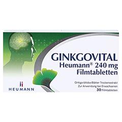 GINKGOVITAL Heumann 240mg 30 Stück N1 - Vorderseite