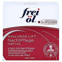 FREI ÖL Anti-Age Hyaluron Lift NachtPflege 50 Milliliter - Vorderseite