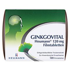 GINKGOVITAL Heumann 120mg 120 Stück N3 - Vorderseite