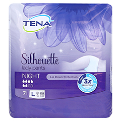 TENA LADY Pants Night L 7 Stück - Vorderseite