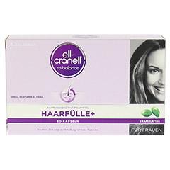 ELL-CRANELL Haarfülle+ für Frauen Kapseln 60 Stück - Vorderseite