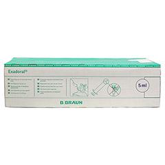 EXADORAL B.Braun orale Spritze 5 ml 100 Stück - Vorderseite