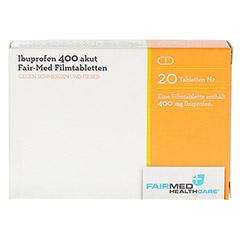 Ibuprofen 400 akut Fair-Med 20 Stück N1 - Vorderseite