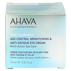 AGE CONTROL Brightening Eye Cream + gratis Ahava Eye Wrinkle Eraser 15 Milliliter - Vorderseite