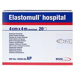 ELASTOMULL hospital 4 cmx4 m elast.Fixierb.weiß 20 Stück - Vorderseite
