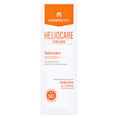 HELIOCARE Color Gelcream light SPF50 50 Milliliter - Vorderseite