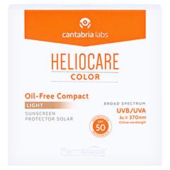 HELIOCARE Compact ölfrei SPF 50 hell Make-up 10 Gramm - Vorderseite