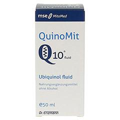 QUINOMIT Q10 fluid Tropfen 50 Milliliter - Vorderseite