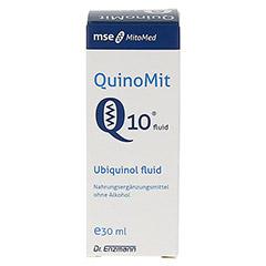 QUINOMIT Q10 fluid Tropfen 30 Milliliter - Vorderseite