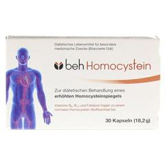 BEH Homocystein Kapseln 30 Stück - Vorderseite