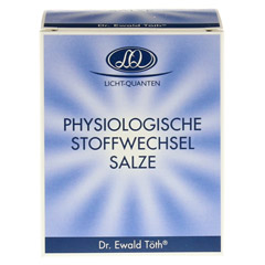 PHYSIOLOGISCHE Stoffwechsel Salze Dr.Töth 180 Stück - Vorderseite