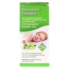 SEDASELECT Tabletten 100 Stück - Vorderseite