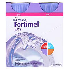 FORTIMEL Jucy Cassisgeschmack 4x200 Milliliter - Vorderseite