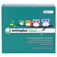 AMINOPLUS fokus Trinkampullen 30x25 Milliliter - Vorderseite