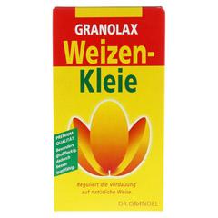 WEIZENKLEIE Granolax Grandel Pulver 200 Gramm - Vorderseite