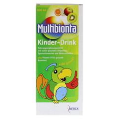 MULTIBIONTA Kinderdrink flüssig 500 Milliliter - Vorderseite