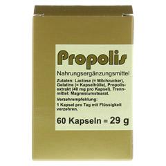 PROPOLIS KAPSELN 60 Stück - Vorderseite