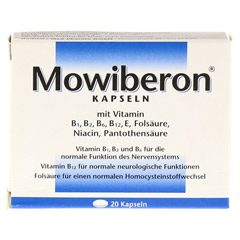MOWIBERON Kapseln 20 Stück - Vorderseite