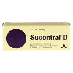 Sucontral D Diabetiker Lösung 100 Milliliter - Vorderseite