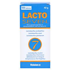 LACTOSEVEN Tabletten 100 Stück - Vorderseite
