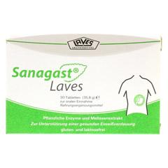 SANAGAST Laves Tabletten 30 Stück - Vorderseite