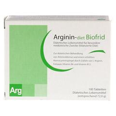 ARGININ-DIET Biofrid Tabletten 100 Stück - Vorderseite