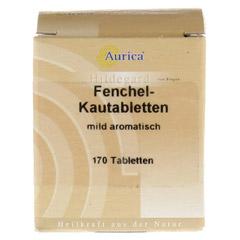 Fenchelkautabletten Aurica 170 Stück - Vorderseite