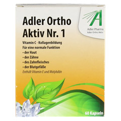 ADLER Ortho Aktiv Kapseln Nr.1 60 Stück - Vorderseite