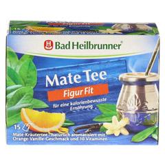 BAD HEILBRUNNER Mate Tee Figur-Fit Filterbeutel 15x1.8 Gramm - Vorderseite