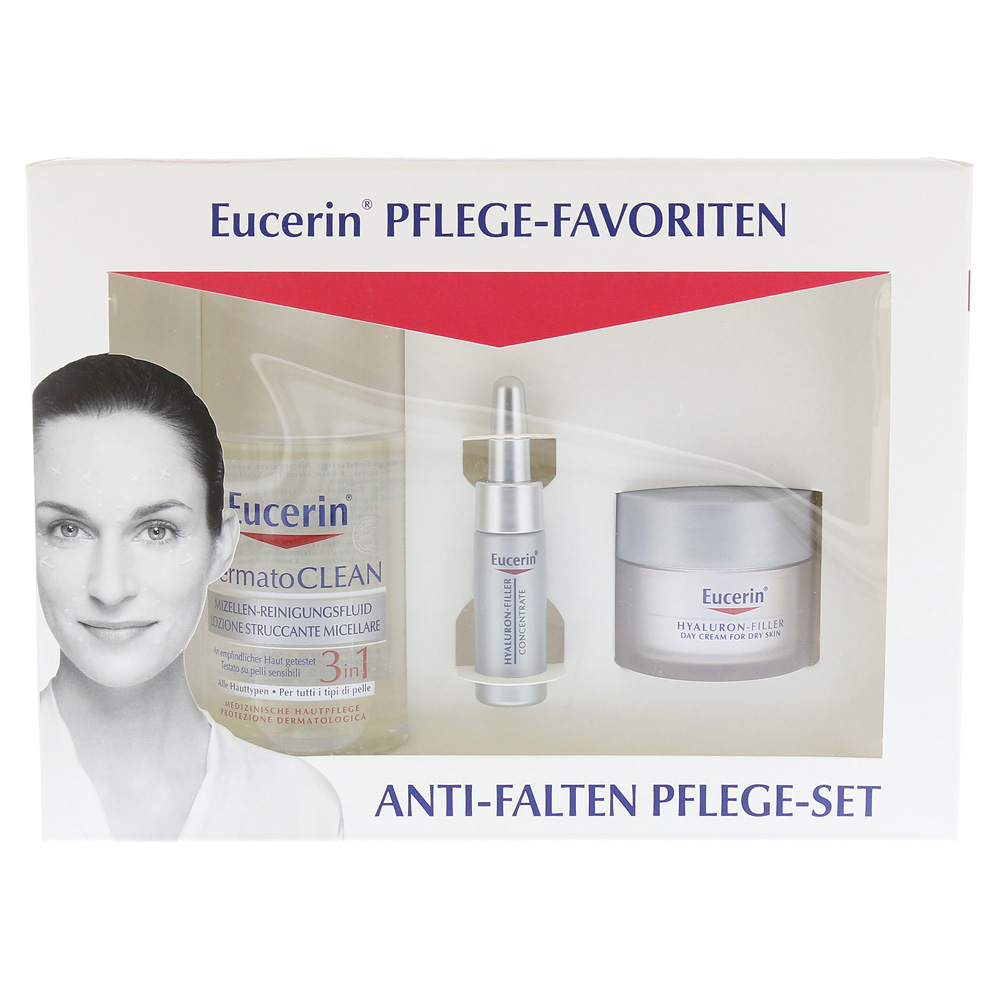 erfahrungen zu eucerin set pflege favoriten anti falten pflege 1 packung medpex versandapotheke. Black Bedroom Furniture Sets. Home Design Ideas