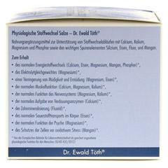 PHYSIOLOGISCHE Stoffwechsel Salze Dr.Töth 180 Stück - Linke Seite