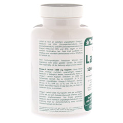 OMEGA 3 Lachsöl 1.000 mg Kapseln 120 Stück - Linke Seite