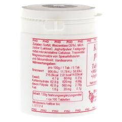 KLEIE PLUS Weizenkleie Tabletten 100 Stück - Linke Seite