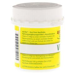 VITAMIN C Dose Pulver 100 Gramm - Linke Seite