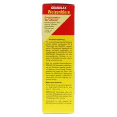 WEIZENKLEIE Granolax Grandel Pulver 200 Gramm - Linke Seite