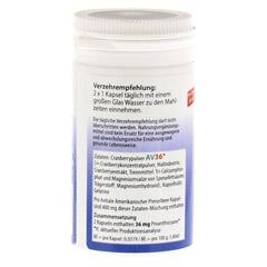 PREISELBEERE amerikanisch 400 mg Kapseln 60 Stück - Linke Seite
