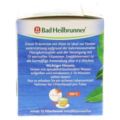 BAD HEILBRUNNER Mate Tee Figur-Fit Filterbeutel 15x1.8 Gramm - Linke Seite