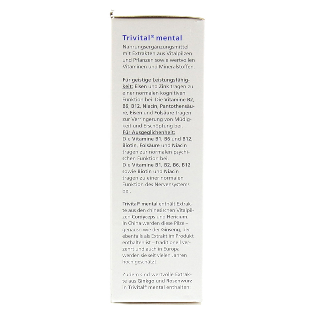 Trivital Mental Kapseln 56 Stück online bestellen medpex