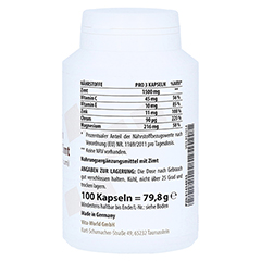 ZIMT 500 mg+Zink+Chrom Kapseln 100 Stück - Linke Seite