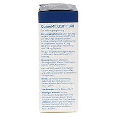 QUINOMIT Q10 fluid Tropfen 30 Milliliter - Linke Seite