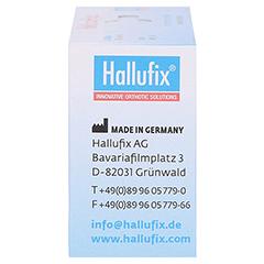 HALLUFIX softies Hammerzehenpolster Gr.M 36-41 2 Stück - Linke Seite