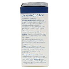 QUINOMIT Q10 fluid Tropfen 50 Milliliter - Linke Seite