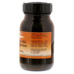 CHLORELLA TABLETTEN 500 mg 400 Stück - Rechte Seite