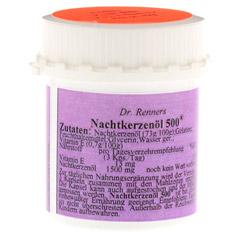 NACHTKERZENÖL 500 mg Dr.Renner's Kapseln 70 Stück - Rechte Seite