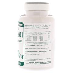 OMEGA 3 Lachsöl 1.000 mg Kapseln 120 Stück - Rechte Seite